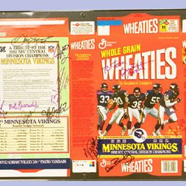 Wheaties Cereal Box Frames (flat)