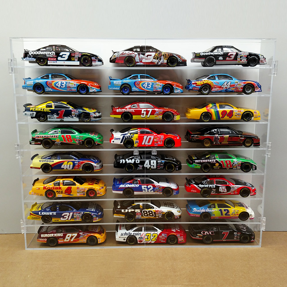 Toy Car Case : Nascar case hot wheels protective display cases bullseye
