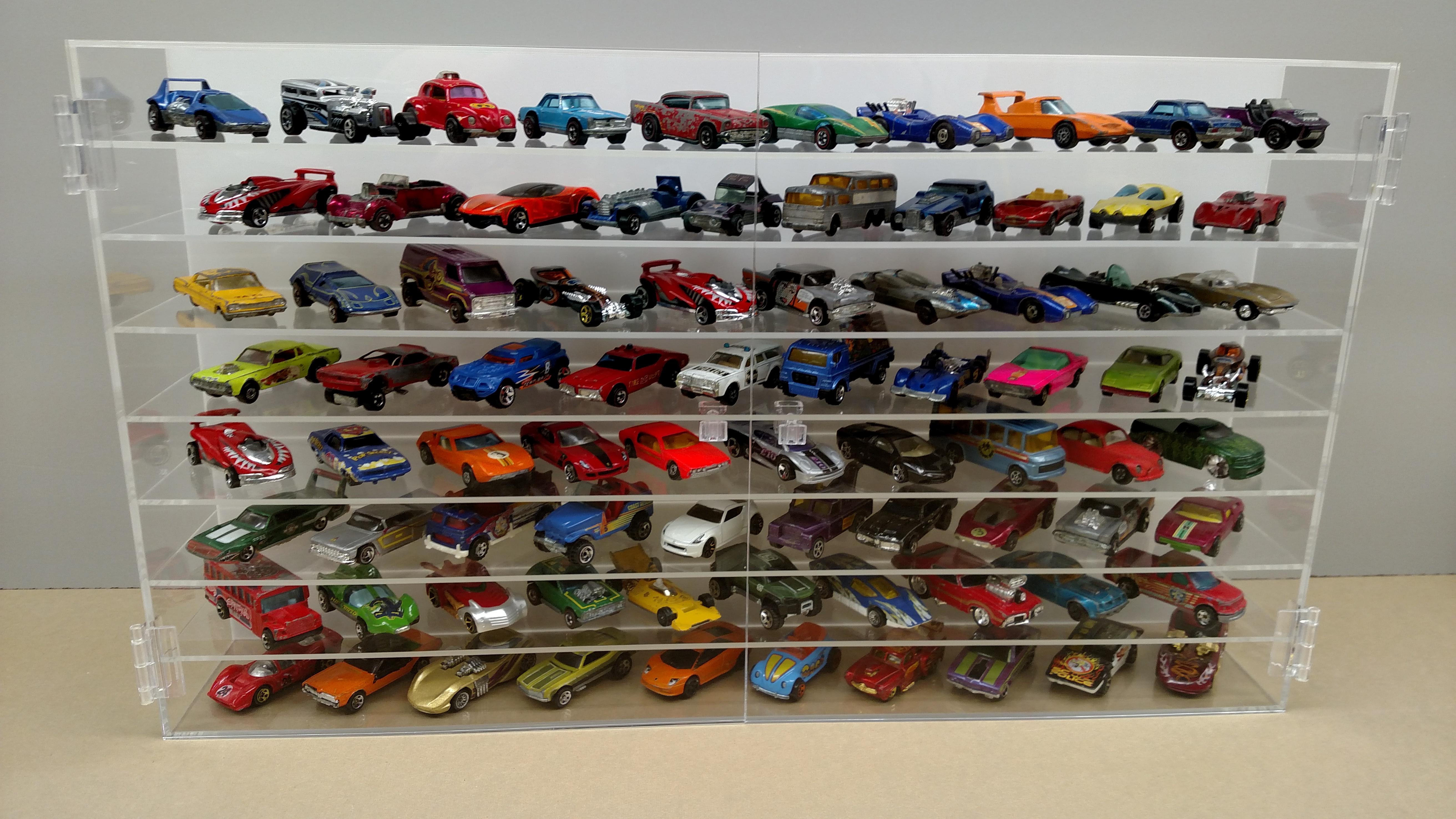 Nascar Case Hot Wheels Protective Display Cases Bullseye Plastics