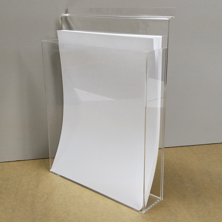 Brochure and Business Card Displays - Bullseye Plastics - Cottage ...